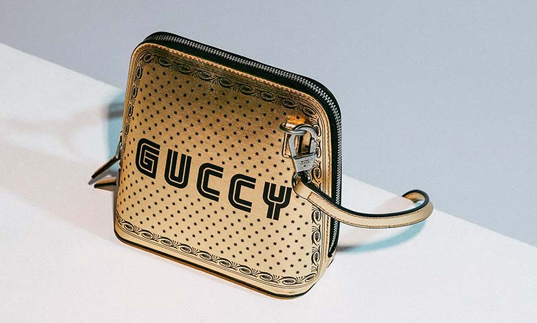Gold Gucci Guccy Shoulder Bag
