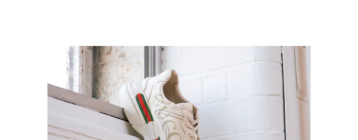 Gucci Rhyton Runner Trainer