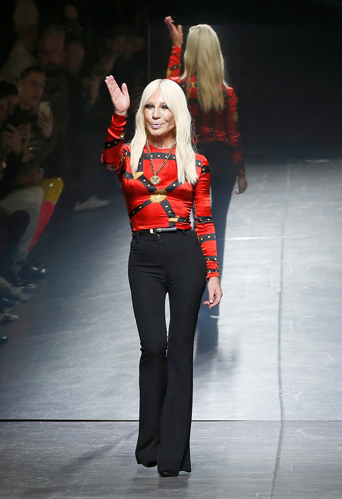 Photograph of Donatella Versace