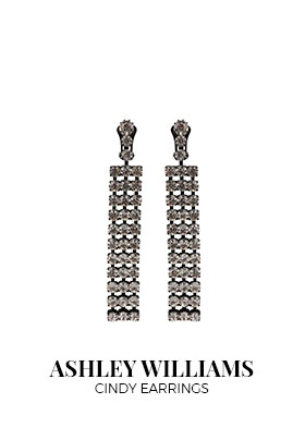 Ashley Williams cindy earrings