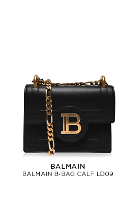 Balmain calf leather B bag