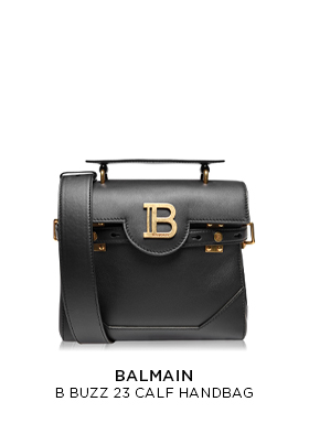 Balmain B Buzz 23 Calf Handbag