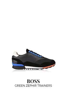 Boss green trainers