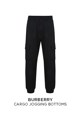 Burberry cargo jogging bottoms