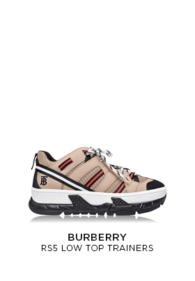 Burberry RS5 Low Top Trainers