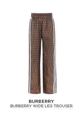 Burberry wide leg trousers