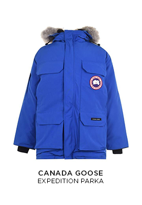 Blue Canada Goose expedition parka