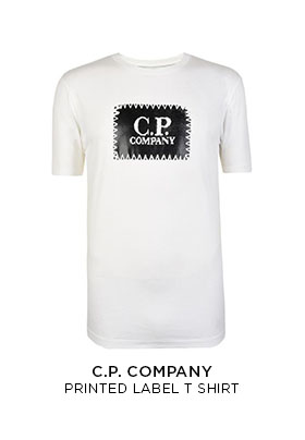 CP Company printed label T-shirt