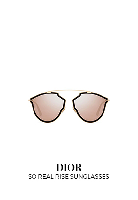 Dior so real black and gold sunglasses