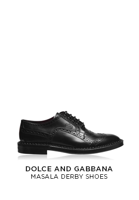 Dolce and Gabbana Masala Derby Shoes