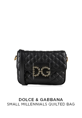 Dolce & Gabbana Small Millenials Quilted Bag