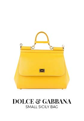 Dolce & Gabbana yellow Sicily bag