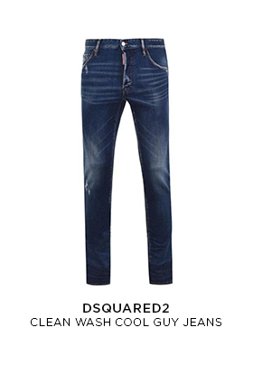 Dsquared2 blue wash cool guy jeans
