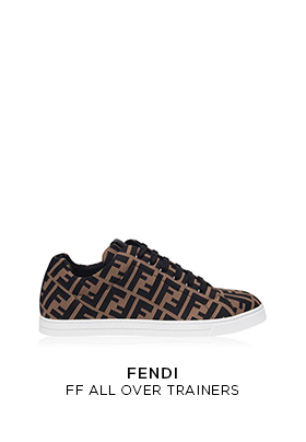Fendi FF all over trainers