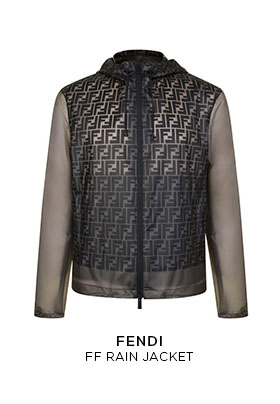 Fendi FF rain jacket
