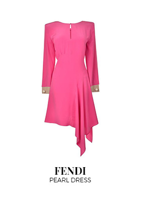 Fendi pearl dress
