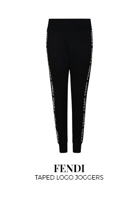 Fendi Taped Logo Joggers