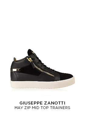 Giuseppe Zanotti May zip mid top trainers