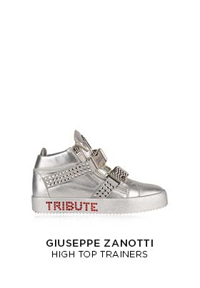 Giuseppe Zanotti Michael Jackson Tribute Project trainers