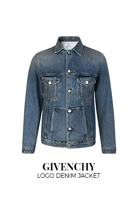 Givenchy logo denim jacket