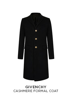 Givenchy formal cashmere coat
