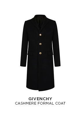 Givenchy cashmere formal coat