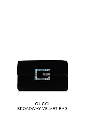 Gucci Broadway Velvet Bag