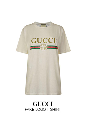 Gucci fake logo T-shirt