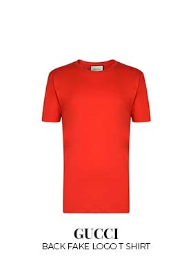 Gucci back fake logo T-shirt