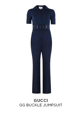 Gucci GG buckle jumpsuit