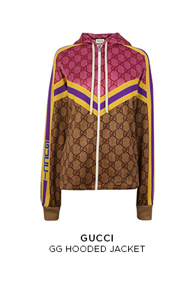 Gucci GG hooded jacket