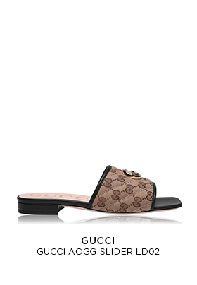 Gucci slider