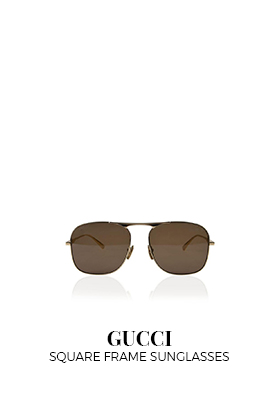 GG035s square frame sunglasses Gucci