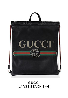 Gucci large beach bag