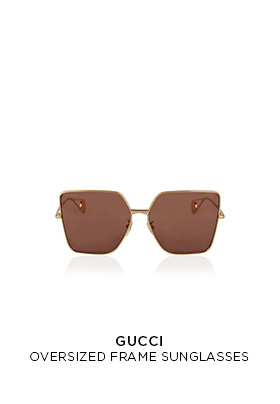 Gucci oversized square framed sunglasses