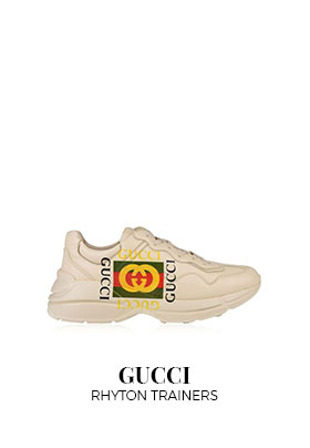Gucci Rhyton runner trainers