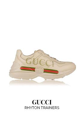 Gucci R`hyton trainers