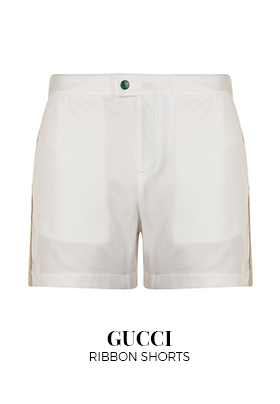 Gucci ribbon shorts