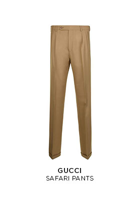Gucci safari pants