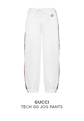 Gucci tech GG pants