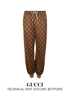 Gucci Technical Knit Jogging Bottoms