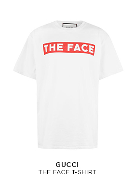 Gucci The Face logo T-shirt
