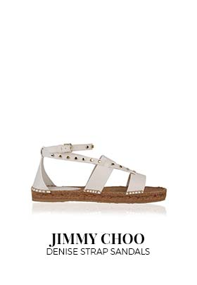 Jimmy Choo Denise strap sandals