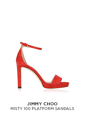 Jimmy Choo Misty 100 platform sandals