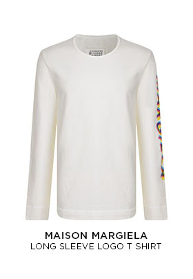 Maison Margiela long sleeve logo T-shirt