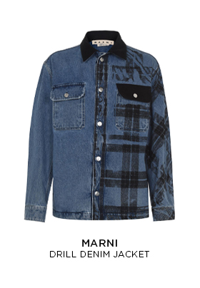 Marni Drill Denim Jacket