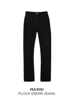 Marni Flock Denim Jeans