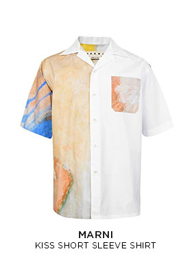 Marni kiss short sleeve shirt