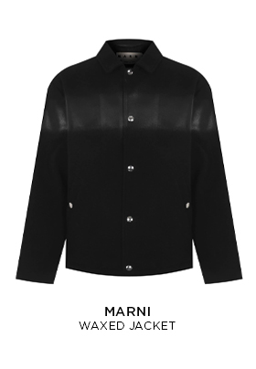 Marni Waxed Jacket