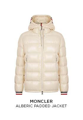 Moncler alberic padded jacket